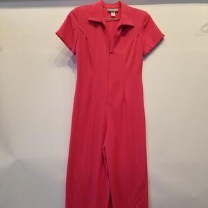 Pants - Pink New Vintage Jumpsuit